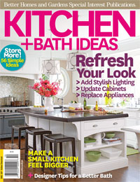 Better Homes and Garden Magazine: Kitchen and Bath Ideas Sept/Oct 2012: Cozy Cucina
